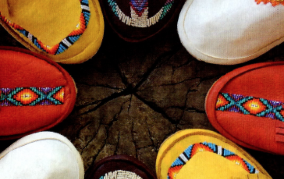 """Moccasins on the Move"" New Mexico Magazine, Nov. 2016"