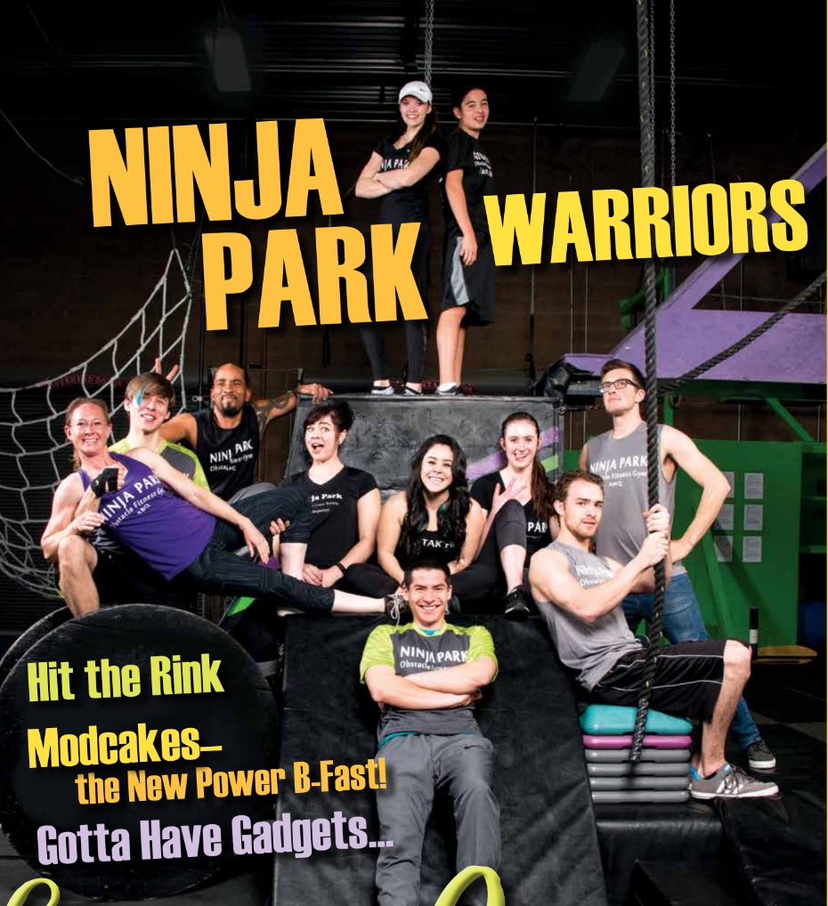 """Be a Ninja"" Local Flavor Magazine, March 2017"
