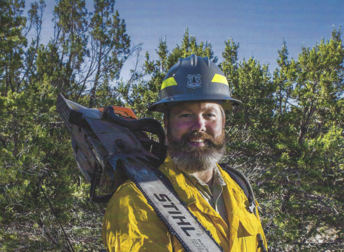 Profile of Wildland Fire Fighter, Albuquerque the Magazine, June 2017