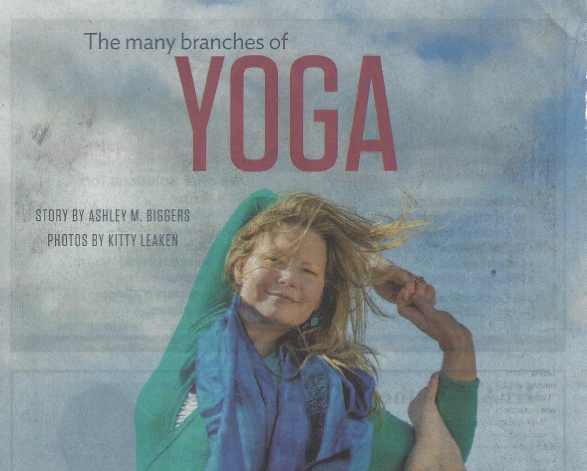 """The Many Branches of Yoga,"" Santa Fe New Mexican, Spring 2017"